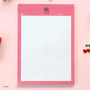 Cherry - ICONIC Sweet B5 size grid notes memo notepad