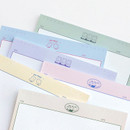 Cute design - ICONIC Buddy B5 size grid notes memo notepad
