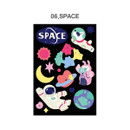 06 Space - ICONIC Merry removable craft decoration sticker