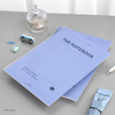 Soft Blue - ICONIC Pieces of moment basic spiral B5 lined notebook