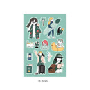 04 Travel - ICONIC Haru removable craft decoration sticker
