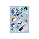 05 Relax - ICONIC Haru removable craft decoration sticker