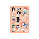 02 Foodie - ICONIC Haru removable craft decoration sticker