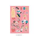 01 Going Out - ICONIC Haru removable craft decoration sticker