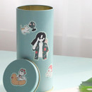 Usage example - ICONIC Haru removable craft decoration sticker