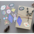 C - ICONIC Big point removable craft decoration sticker