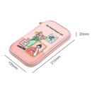 Size - Ardium Colorpoint flat zip pencil case pouch