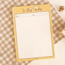 Nap - Annyang B5 size lined and grid notes memo notepad