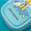 Water resistant - Ardium Color point block zip pencil case pouch