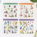 OZ Peter pan Heidi self-cut clear sticker