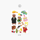 08 Actor - Project job my juicy bear removable sticker