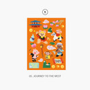 0 Journey to the West - Project fairy tale my juicy bear removable sticker