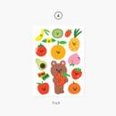 04 Fruit - Project basic my juicy bear removable sticker