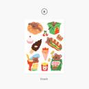 08 Snack - Project basic my juicy bear removable sticker