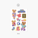 03 Date - Project daily life my juicy bear removable sticker