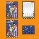 Party people - Ardium Color point mini letter envelope set