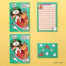Lunch Box - Ardium Color point mini letter envelope set