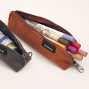 Store up to 10 pens - Byfulldesign Tiny but Big triangle zipper pencil case
