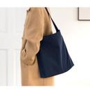 Navy - Byfulldesign Light daily large shoulder bag