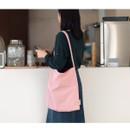 Soft Pink - Byfulldesign Light daily large shoulder bag