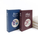 Bookfriends Anne and Alice hanging tie towel gift package