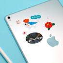 Usage example - DESIGN IVY Ggo deung o removable sticker