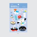 01 - DESIGN IVY Ggo deung o removable sticker