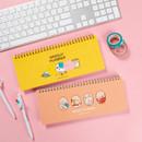 DESIGN IVY Ggo deung o spiral dateless weekly desk planner