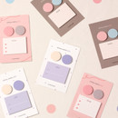 Dash and Dot And dots memo notes sticky notepad ver3