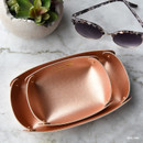 Rose gold - Play Obje 2way synthetic leather DIY tray set