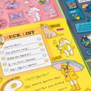 Usage example - Ardium Pop illustration colorful point paper sticker ver4