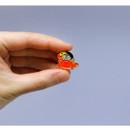 Usage example - DESIGN IVY Ggo deung o friends pin badges ver2