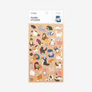 Package - For your heart paper adhesive sticker - Simsim