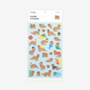 Package - For your heart paper adhesive sticker - Otter