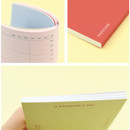 Open flat - PAPERIAN Make a memo A6 notebook