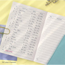 08 Today's Expenses - PAPERIAN Make a memo A6 notebook