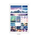 04 AM2 - PLEPLE Mood deco photo paper sticker set