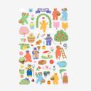 Dailylike Jelly bear Garden paper removable sticker
