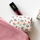 Usage example - Monopoly Cherish every moment small PU zipper pouch case