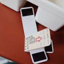 Magnet bookmarks - UNIVERSAL CONDITION Vintage ticket magnet bookmark set