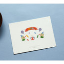 Usage example - Dailylike Poodle removable paper diary deco sticker seal