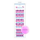03 Heart - Wanna This Confetti aurora pearl mini deco sticker 02
