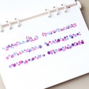 Usage example - Wanna This Confetti aurora pearl mini deco sticker 02
