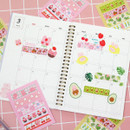 Usage example - DESIGN GOMGOM Cute masking deco sticker seal