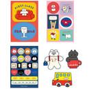 Composition - ROMANE Donat Donat removable deco sticker pack
