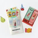 ROMANE MonagustA removable deco sticker pack