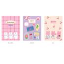 Option - Reeli 6 months dateless monthly planner notebook