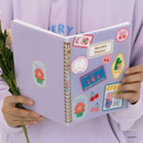 Wappen - Reeli 6 months dateless monthly planner notebook