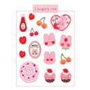 Sugary Red - DESIGN GOMGOM Reeli removable deco sticker