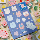 Jolly Blue - DESIGN GOMGOM Reeli removable deco sticker